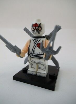 NEW GI Joe Cobra Storm Shadow Lego Block Compatible Mini Figure IN USA