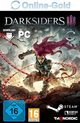 Darksiders 3 Key - Steam PC Spiel Digital Download Code RPG [DE/EU]