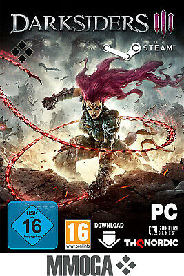 Darksiders 3 - Steam PC Spiel Key Download Code Action RPG Neu - DE/EU