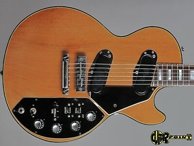 1973 Gibson Les Paul Recording - Natural Mahogany - Low Impedance PU´s