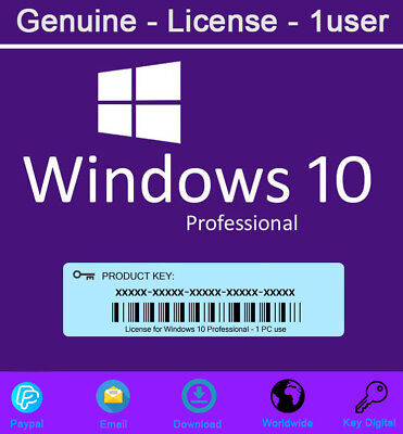 Genuine Windows 10 Pro Product Key 32 and 64 bit For Activation