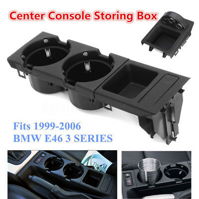 Car Interior Center Console Drink Cup Porta monete per BMW 3Series E46 MA1777