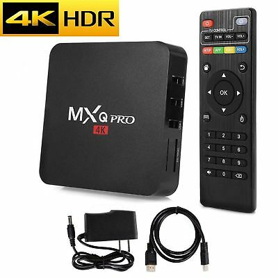 MXQ Pro 4K S905W Ultra HD 3D 64Bit Android 7.1 Quad Core Smart TV Box KO DI 17.6
