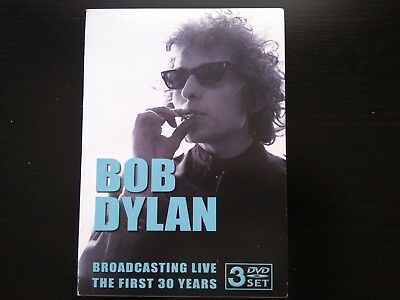 Bob Dylan (3 X Dvd) Broadcasting Live-The First 30 Years