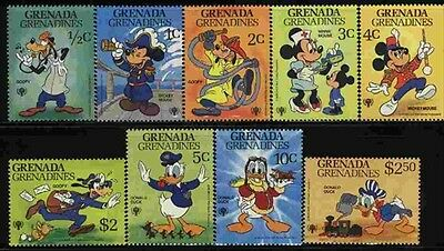 Grenada-Grenadines MNH Sc 350-58 Disney Value $ 7.00  US $$