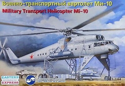 EASTERN EXPRESS 14509 Military Transport Helicopter Mi-10 in 1:144