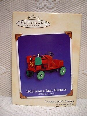 2002 - 1928 Jingle Bell Express - Hallmark ornament