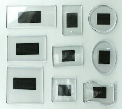 7Pcs SET fridge magnet for your printing or drawing insert acrylic blank DIY
