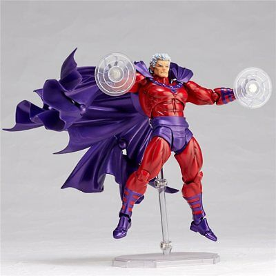 Amazing Yamaguchi Revoltech No.006 Marvel X-Men Magneto Action Figure New In Box