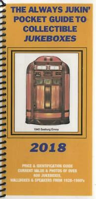 2018 Pocket Guide Always Jukin' Vintage Jukebox Price Guide Rockola Seeburg Etc