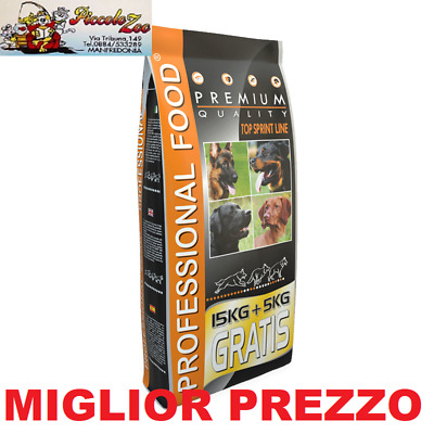 Professional Food Top Sprint ENERGY POWER 30/20 mangime crocchette per cani 20kg