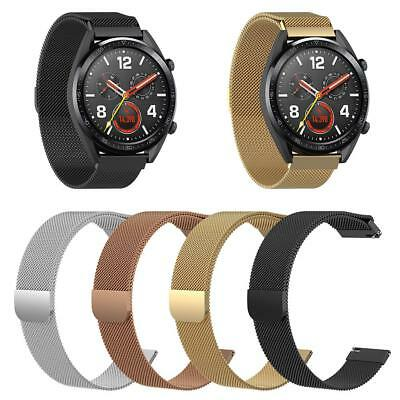For Huawei GT Smart Watch Silicon Wrist Strap WristBand Bracelet Milanese Loop