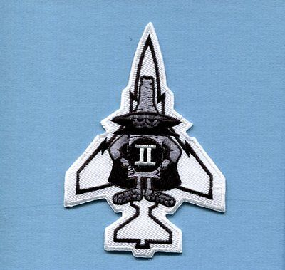 McDONNELL F-4 PHANTOM SPOOK USAF US NAVY USMC Foreign Fighter Squadron Patch WT