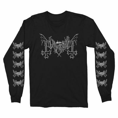 MAYHEM - Logo - Long Sleeve T SHIRT M-L-XL-2XL New Official Kings Road Merch