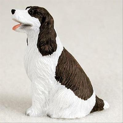 Springer Spaniel Liver Dog Tiny One Miniature Small Hand Painted Figurine