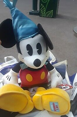 Disney Parks Exclusive Mickeys 90th Birthday Party Hat Mickey Mouse Jumbo Plush