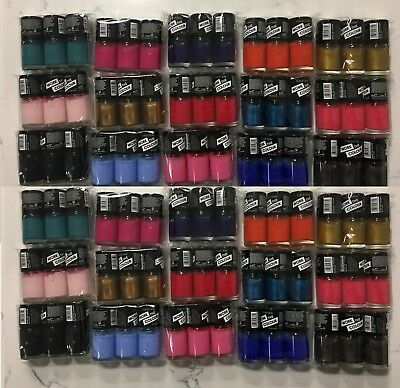 36 Collection 2000 wtc Nail Polish Varnish Wholesale JobLot Cosmetics MakeUp uk
