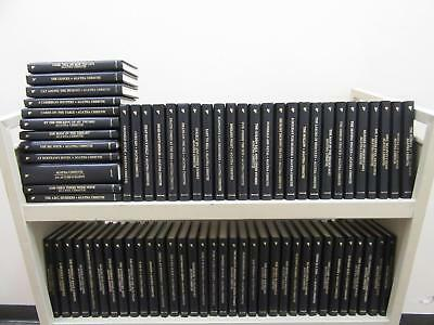 Lot of 71 THE AGATHA CHRISTIE MYSTERY COLLECTION Set Bantam Books