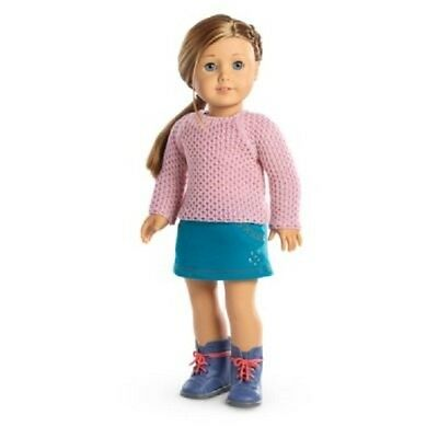 American Girl Doll Clothes SPARKLE SWEATER OUTFIT Top Skirt Boots  NEW no doll