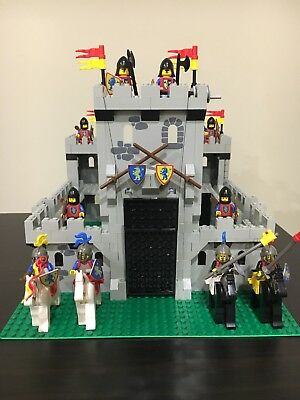 Lego Vintage Yellow Castle Instructions Only 3756075 2999