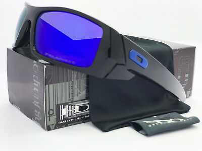 Sunglasses-GascanA Polarized Bright Black Blue Mercury Iridium