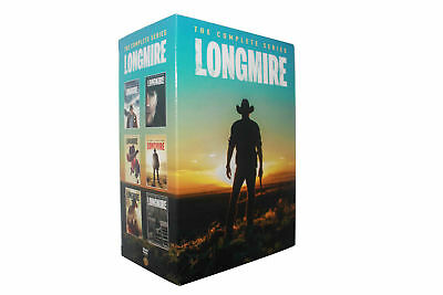 LONGMIRE the Complete Series Seasons Season 1 2 3 4 5 6