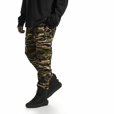 ✅24h DELIVERY✅Puma XO Camo Canvas Mens THE WEEKEND Trouser Pants - Save 65% Sale