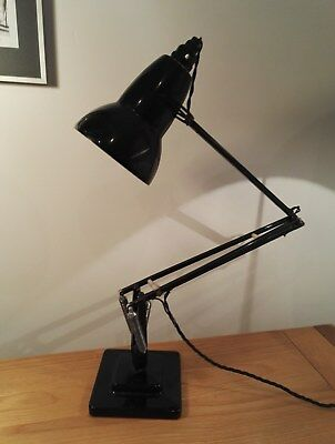 Vintage, 1950's, Black, 2 step 1227 Anglepoise Lamp, Herbert Terry & Sons