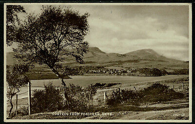 1936 Postcard - Portree from Penifiler Isle of Skye - Scotland