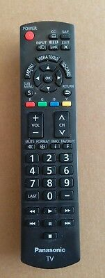 """Replacement TV Remote Control N2QAYB000485 For Panasonic 32""""~85"""" TVs"""