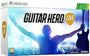 Guitar Hero Live Xbox 360 by Activision, with Guitar Controller, Party PAL Game