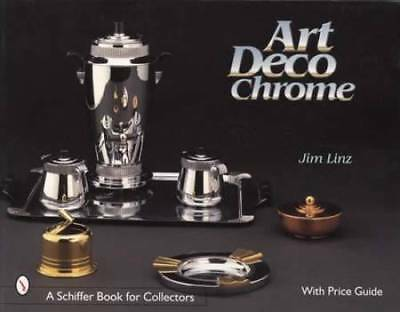Vintage Art Deco Chrome Table Service & Bar Ware Collectors Guide w Chase Others