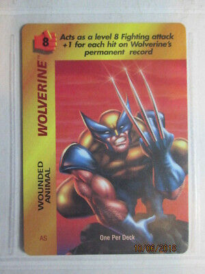 1995 Marvel Overpower Ccg - Inaug (Op) - Special Card - Wolverine ( As ) ( Opd )