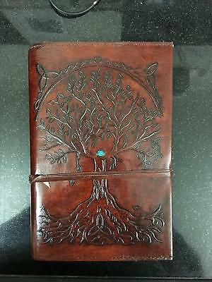 Refillable Leather Journal Antique Handmade Leather Travel Diary notebook