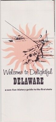 1960's Delaware Events And Attractions Brochure