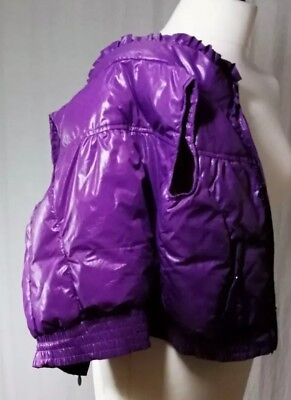 Benetton Girls Purple Gillet Age 5 CB2