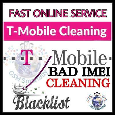 T-Mobile Cleaning Unbarring Bad IMEI Clean iPhone Android (Lost/Stolen Only)