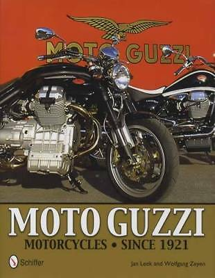 Moto Guzzi Motorcycles 1921 & Up Reference w All Models, Technical Details, Etc