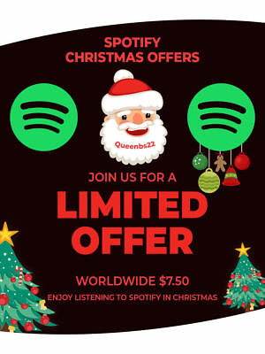 Spotify Premium - 12 Month - Hot promotion - 1hour delivery