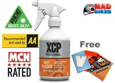 XCP Rust Blocker High Performance Motorcycle Corrosion Protection Spray 500ml