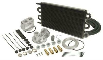 Derale Tube & Fin Engine Oil Cooler Kit (spin on adapter) DP15551