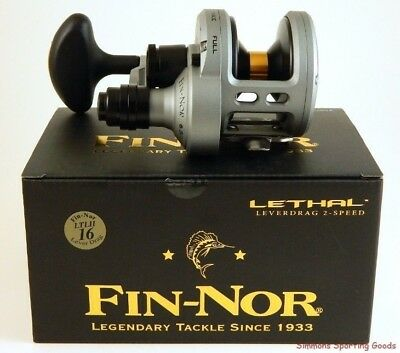 Fin-Nor-Lethal-Ltl16Ii-Lever-Drag-Two-Sp