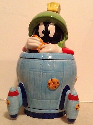 Marvin the Martian Cookie Jar Looney Tunes Classic Collections NIB