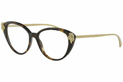 83fc4d67aa54 Versace Eyeglasses VE3262B VE 3262 B 5267 Havana Full Rim Optical Frame 54mm