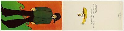 The Beatles 1968 Yellow Submarine George Harrison Official USA Get Well Card