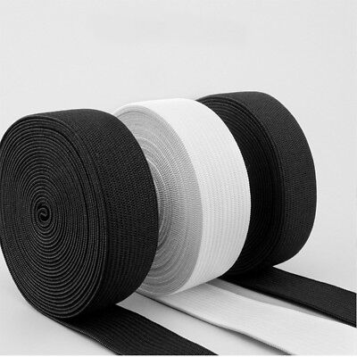 10Yards 15mm Wide Flat Nylon Elastic Band for Trousers Sewing Clothing DIY