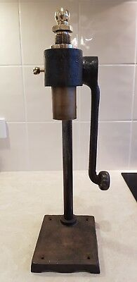 Vintage/antique, Beer Bottle Capper, Home Brew, cast iron, brass