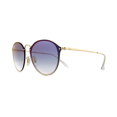 078353a2e6b Ray-Ban Sunglasses Blaze Round RB3574N 001 X0 Gold Blue Gradient Red  Mirrored