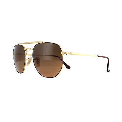 a57c153ffd Ray-Ban Sunglasses Marshal 3648 910443 Tortoise Gold Brown Gradient