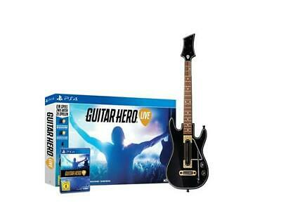 Guitar Hero Live with Guitar Controller PS4 (Cover: english) Multilingual Game
